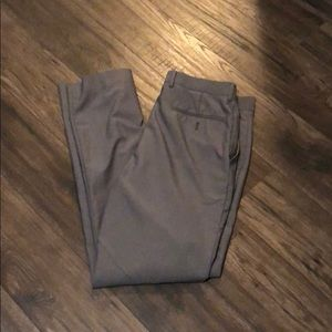 J Ferrar Slim Fit Gray Dress Pants